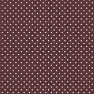 茶色に白のドットのフリー素材