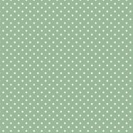 薄い緑と白い水玉のフリー素材