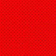 赤に黒の水玉柄のフリー素材