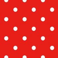 赤と白い水玉のフリー素材