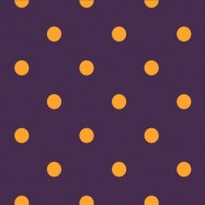 紫と黄色の水玉柄のフリー素材