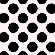 フリー素材:白と黒の水玉模様