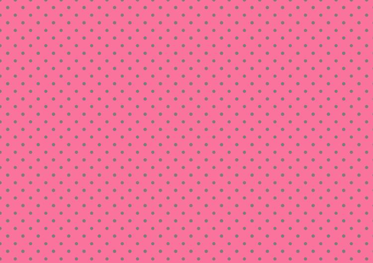 ピンクと灰色のドット柄・小