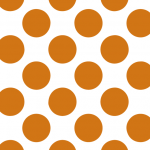 ホワイト✕濃いオレンジ#01
