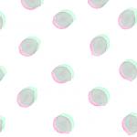 ピンク・グリーン水彩