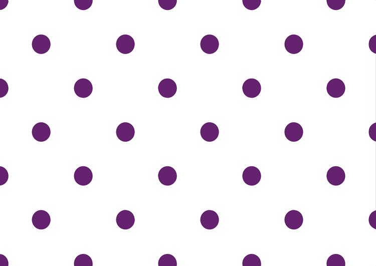 白と紫の水玉模様フリー素材・ドット中