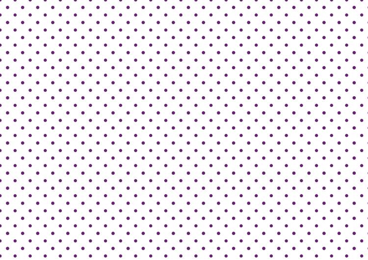 白と紫の水玉模様フリー素材・ドット小