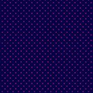 紺とネオンピンクの水玉柄